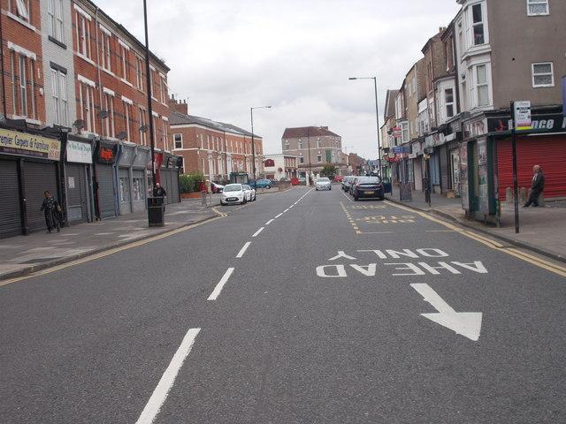 Norton Road - viewed from Bishopton Lane