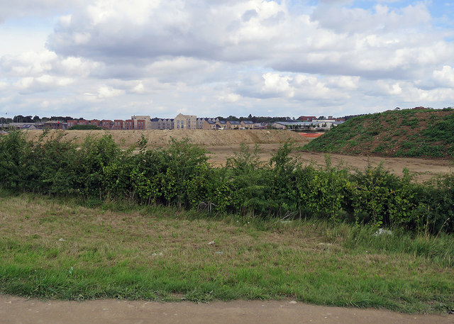Building at Trumpington Meadows