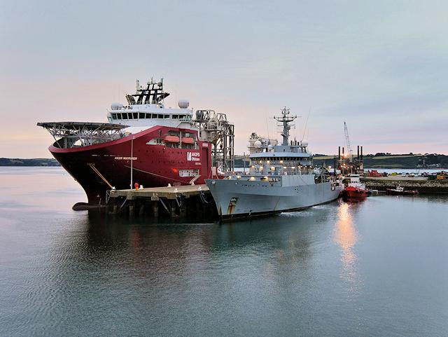 Falmouth Docks Queen's Wharf