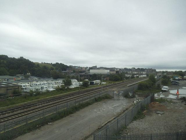 West Coast Main Line at Carnforth