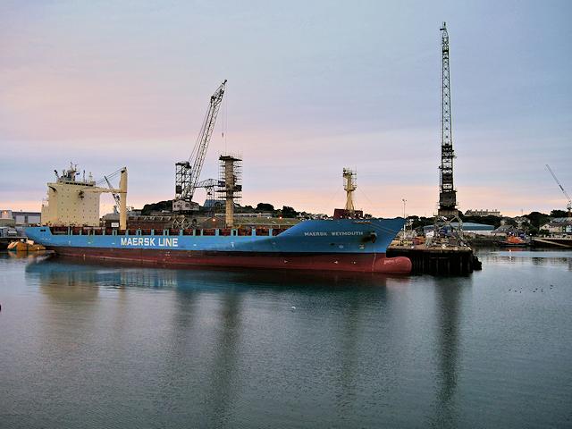 Falmouth Docks Duchy Wharf