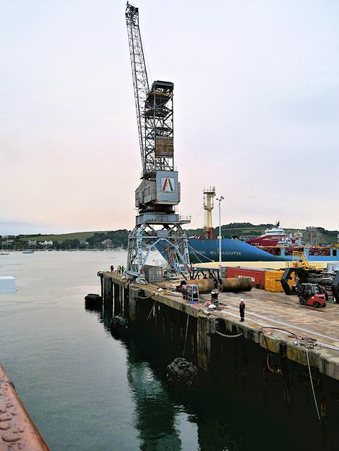 Tower Crane at County Wharf