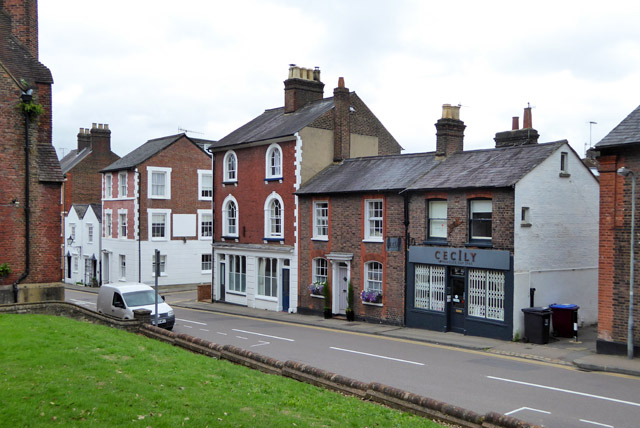 Buildings on Castle Street, Berkhamsted