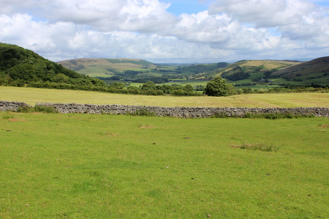 A View over the Hodder Valley (2)