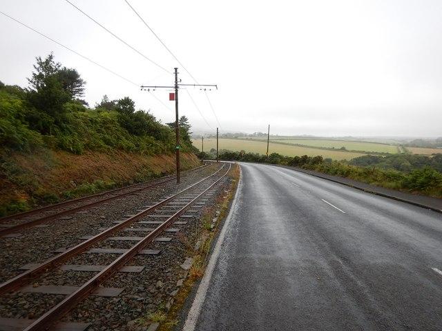 A11 Coastal Road towards Groudle Glen