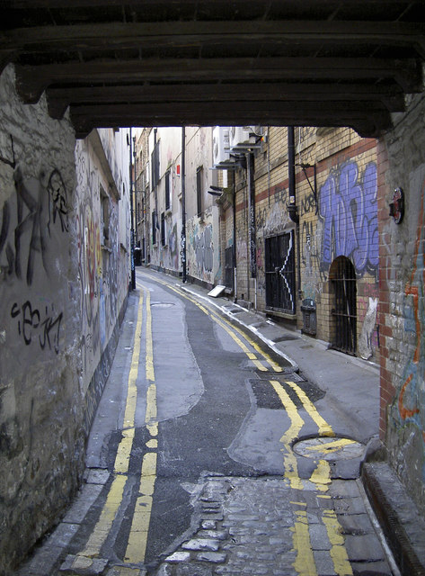 Leonard's Lane from underneath