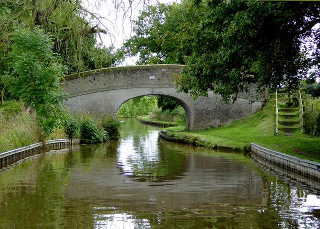 Starkey's Bridge north of Wrenbury in Cheshire