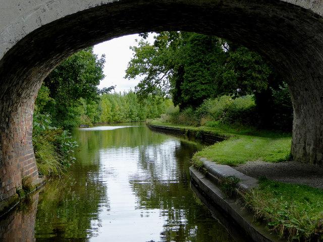 Llangollen Canal north of Wrenbury in Cheshire