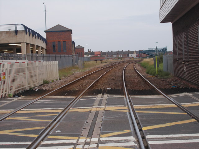 View from Level Crossing - West Dyke Road