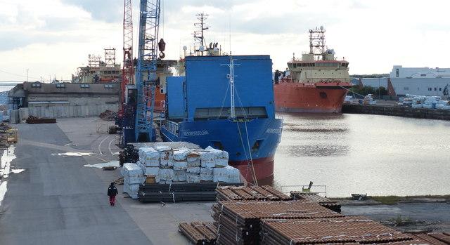 Ships at the Albert Dock, Kingston upon Hull