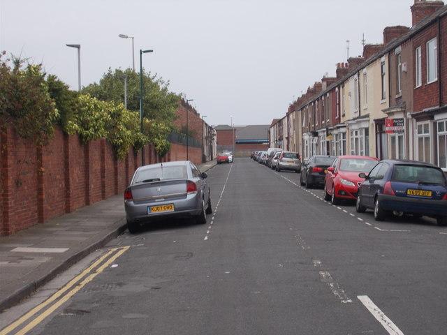 Hanson Street - Thrush Road