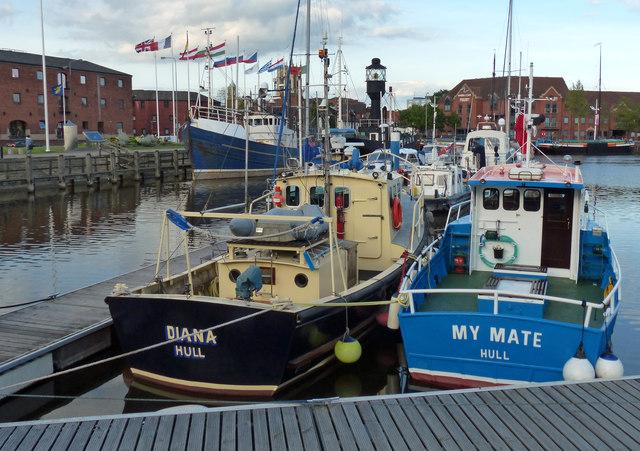 Marina at the Humber Dock