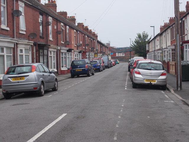 Scott Street - Thrush Road