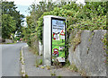 J5347 : KX300 telephone box, Raholp (July 2017) by Albert Bridge