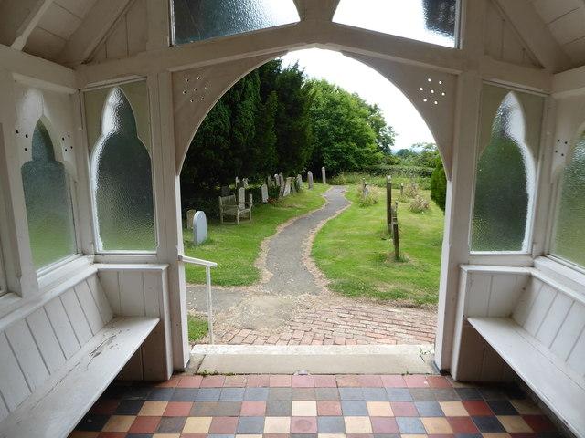 St Giles, Dallington: churchyard (c)