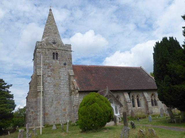 St Giles, Dallington: churchyard (d)