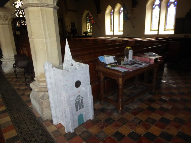 Inside St Giles, Dallington (b)