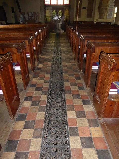 Inside St Giles, Dallington (c)