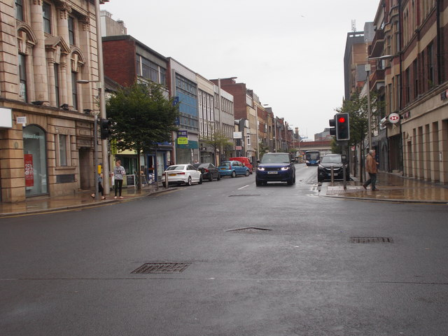 Albert Road - viewed from Corporation Street
