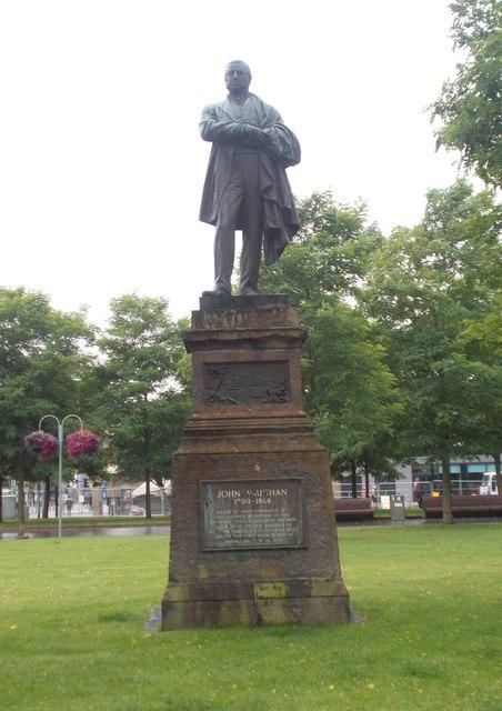 Statue of John Vaughan
