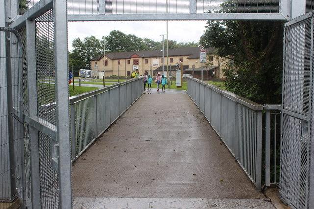 Footbridge to Royal Mint Experience