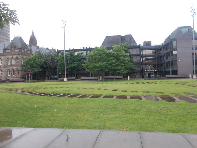 Civic Centre - viewed from near Art Gallery