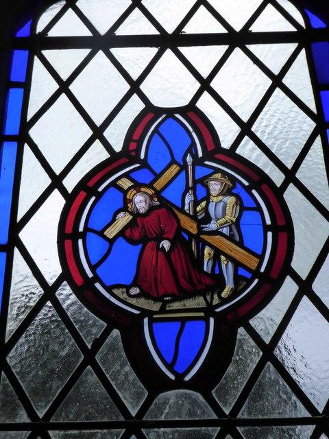 St Giles, Dallington: stained glass window (iii)
