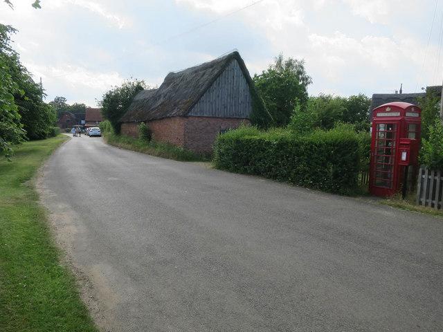 Phone box, Woodbastwick