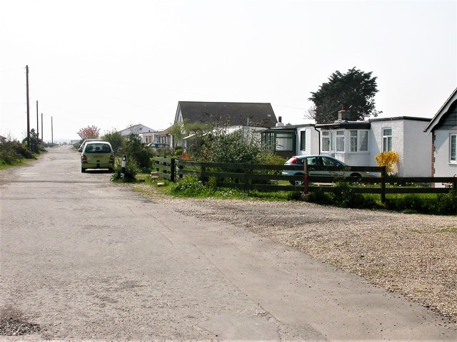 Harbour Road, Pagham looking south west