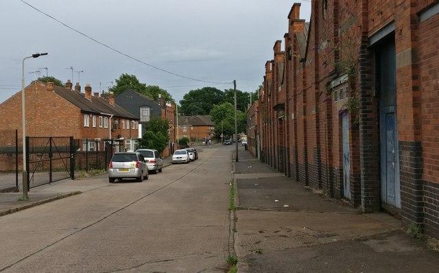 Burgess Road in Aylestone Park