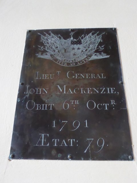St Giles, Dallington: memorial (iv)