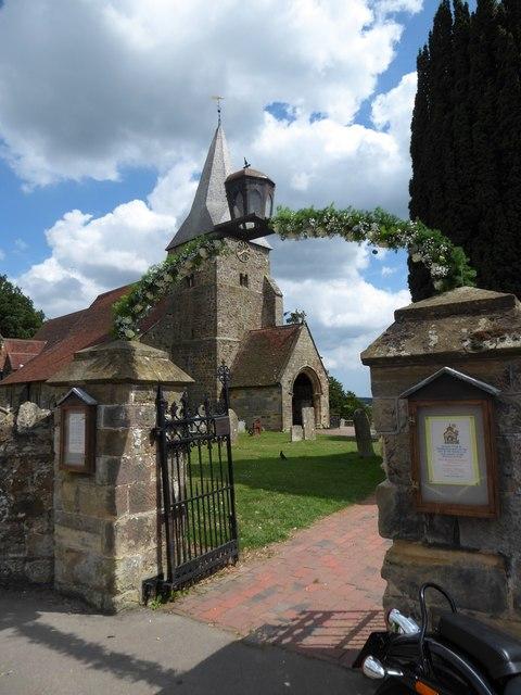 St Bartholomew, Burwash: entrance