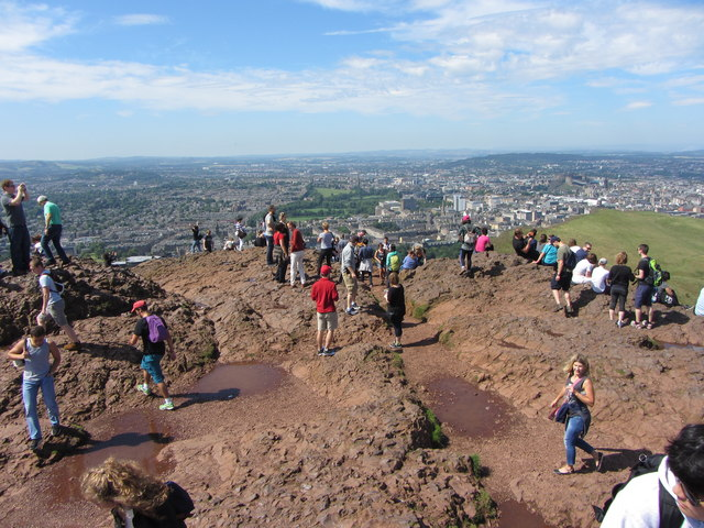 View from the summit of Arthur's Seat
