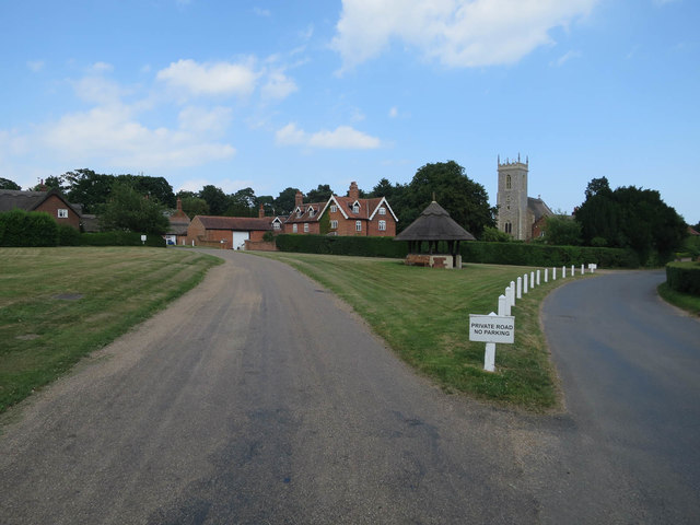 Village green, Woodbastwick