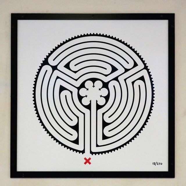 Park Royal tube station - Labyrinth 18