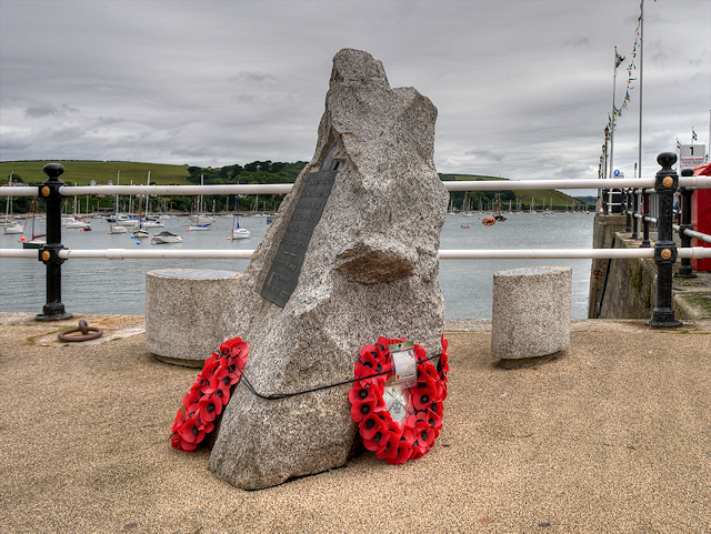 Operation Chariot Memorial, Prince of Wales Pier
