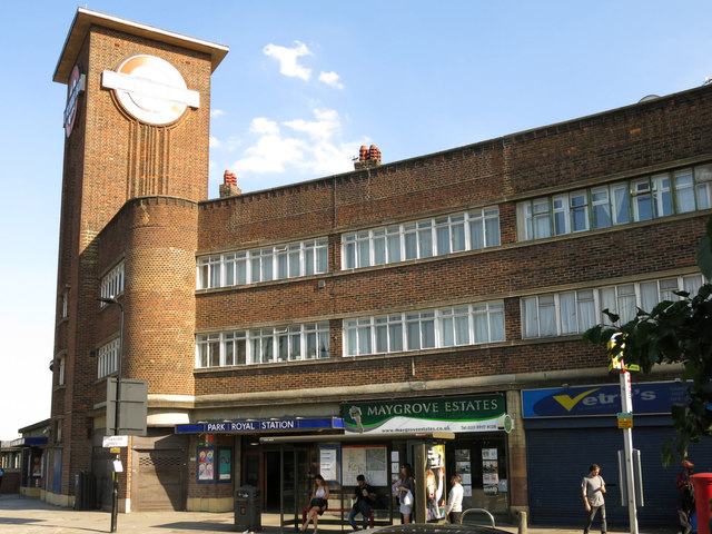 Park Royal tube station, Western Avenue, W5 (6)