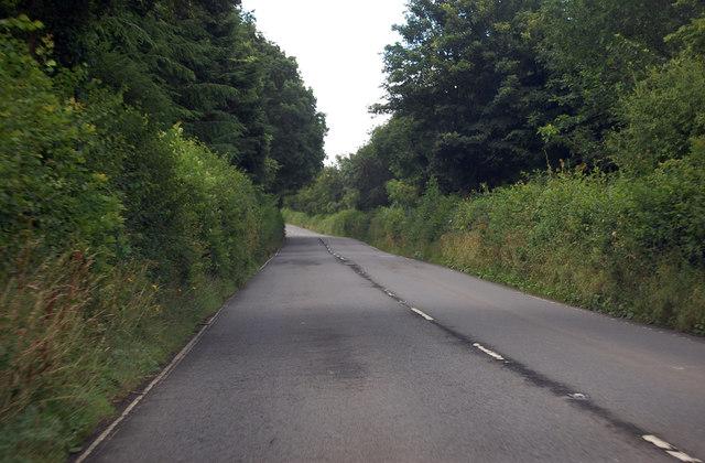A3124 near Rosemoor RHS Gardens