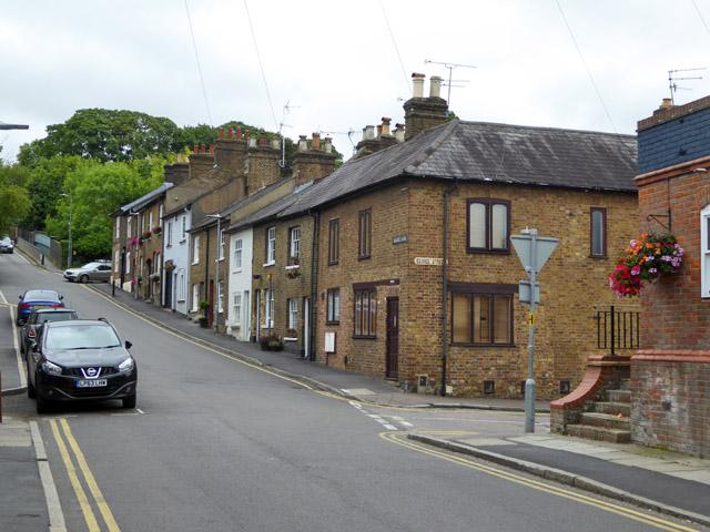 Houses on Gravel Path, Berkhamsted