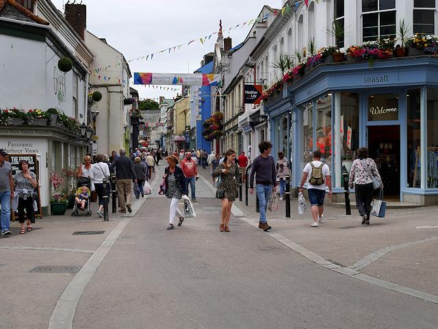 Falmouth, Church Street