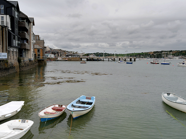 Small Boats in Falmouth Harbour