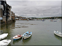 SW8032 : Small Boats in Falmouth Harbour by David Dixon