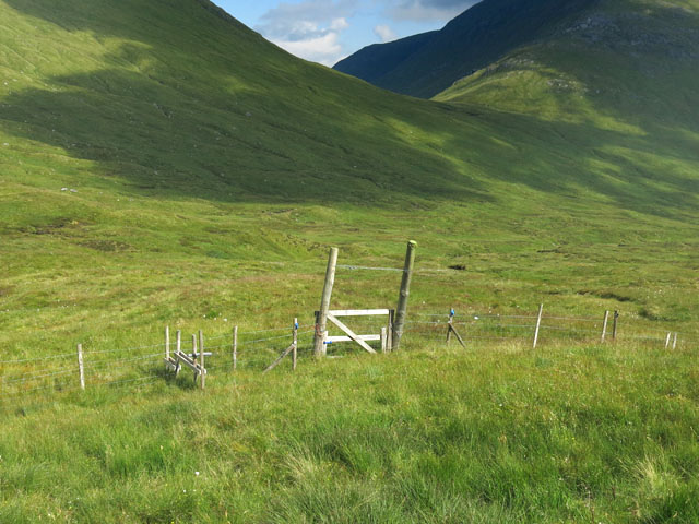 Fence, Gate and Stile in Coreheynan