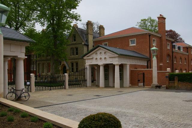 Lady Margaret Hall, Oxford: Porter's Lodge