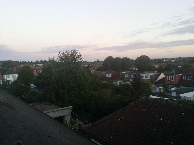 Rooftops in Kingsbury