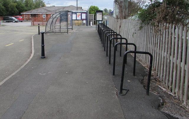 Ashchurch railway station cycle racks