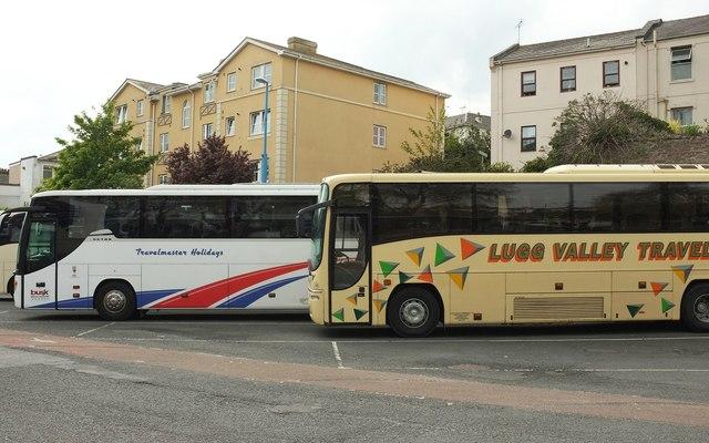 Coaches, Torquay coach station