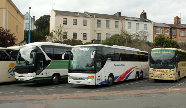 Coaches, Torquay coach station