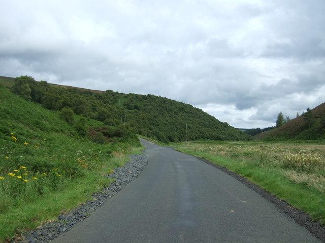 B6355 towards Chirnside