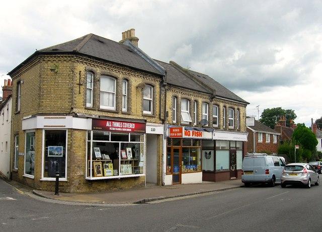 Shops, High Street, Henfield